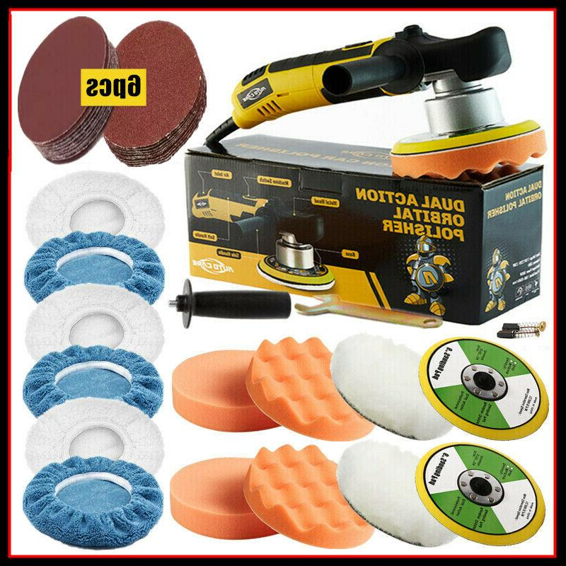 6 680w dual action car polisher electric