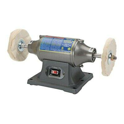 """6"""" Buffer Bench Top Buffing Machine Polisher Tools For Metal"""