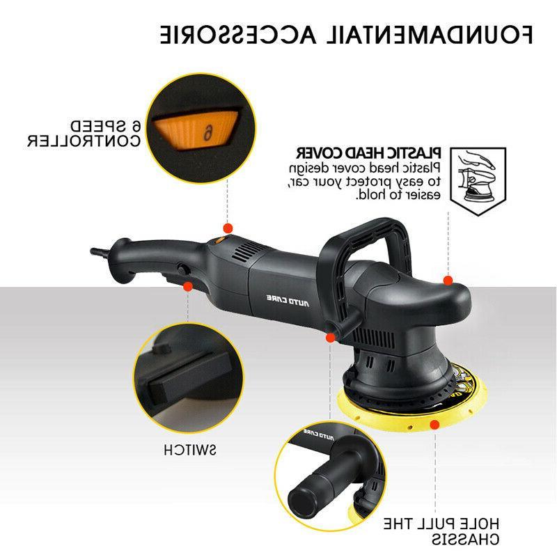 700W Dual Action Polisher Buffer Kit