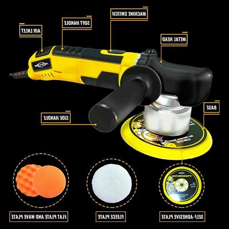 "6"" Random Orbital Polisher Sander Machine Kit"