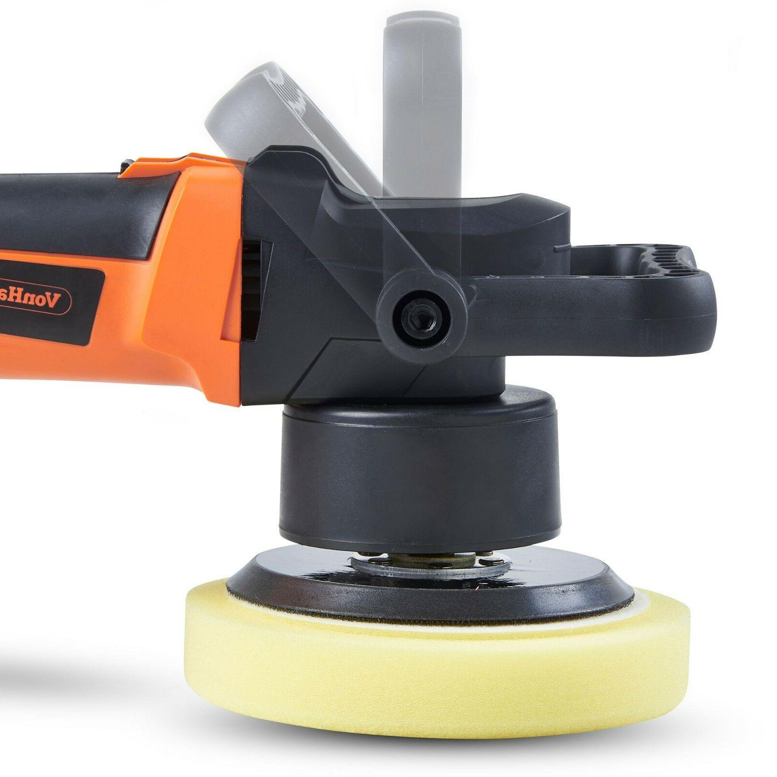 VonHaus Random Orbital Polisher Kit