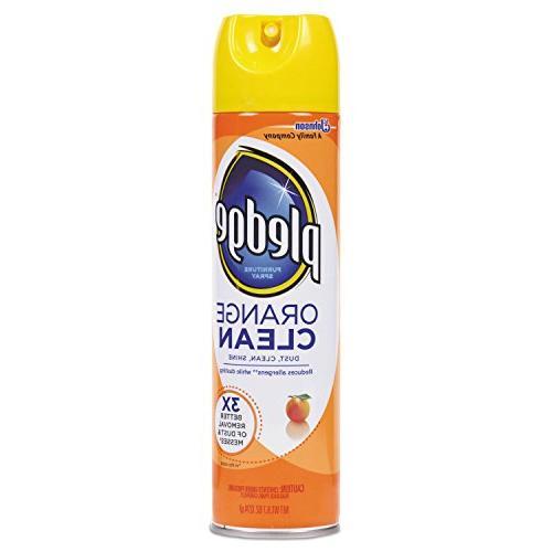 Pledge Furniture Orange Clean Scent, oz