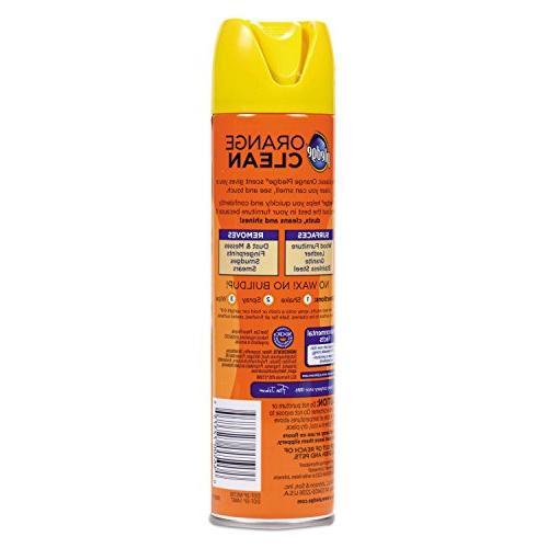 Pledge Orange Scent, oz Aerosol