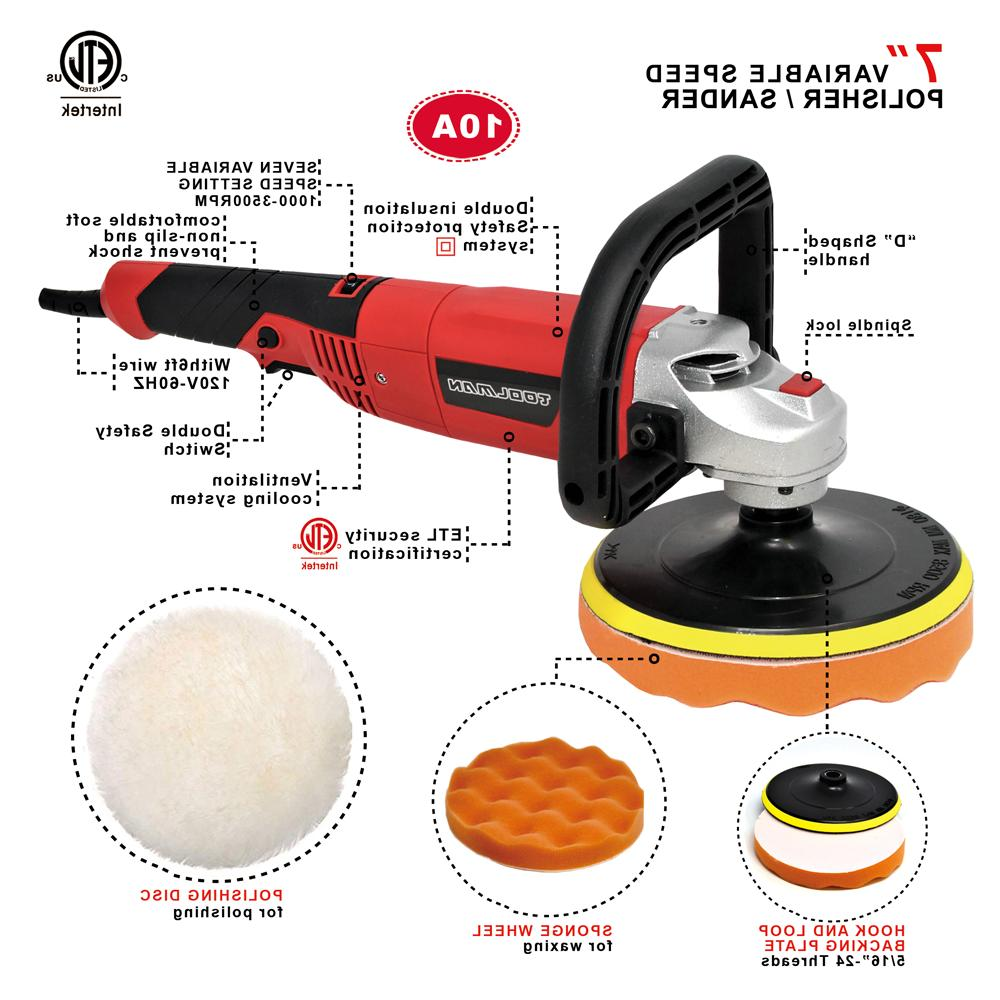"7"" Speed Polisher Buffer"