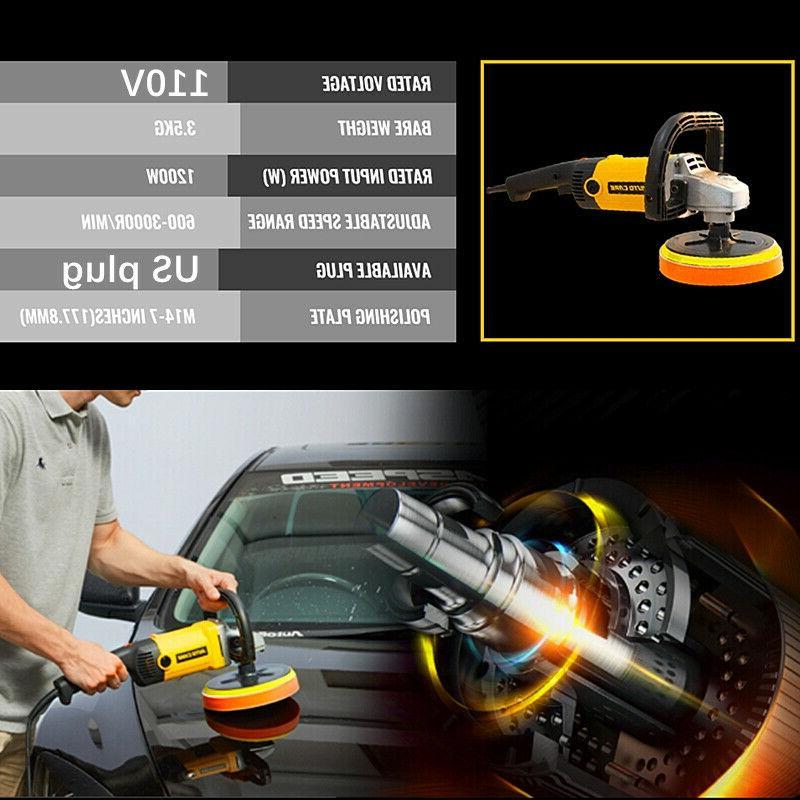 """7"""" Car Kit Variable Speed + 5"""" Bonnet"""