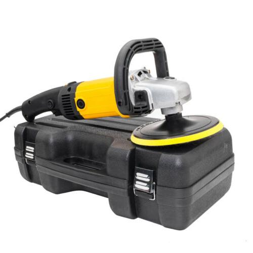 "7"" Electric Variable Speed Buffer Waxer Detail Boat"