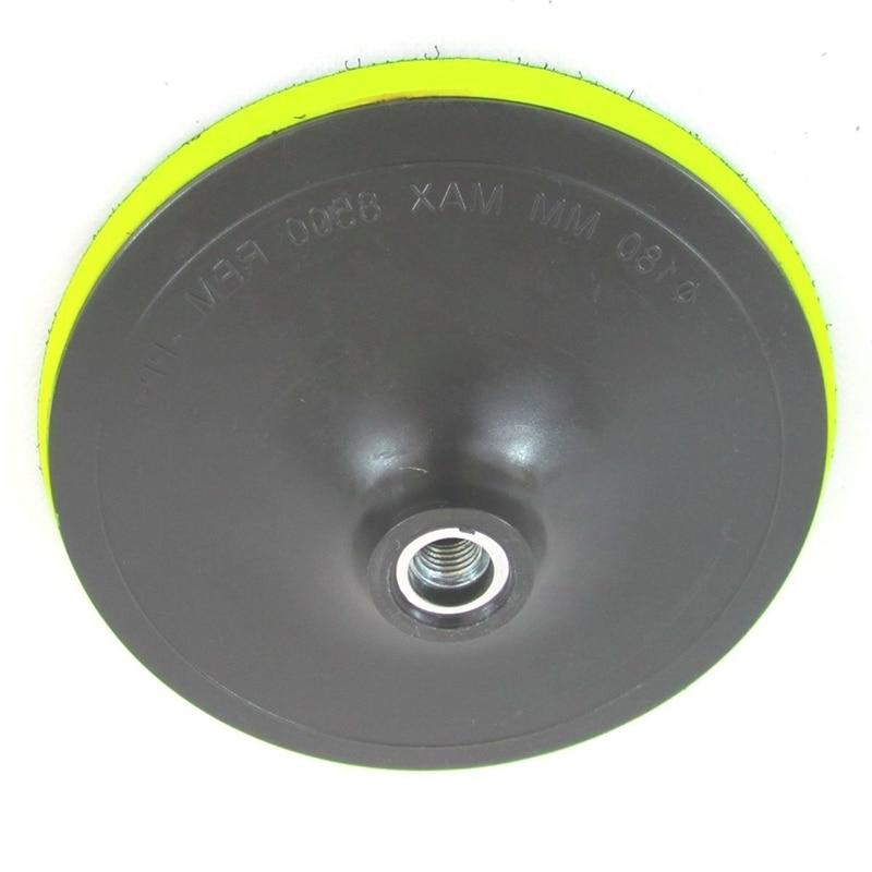 High Quality Car <font><b>Polisher</b></font> Polishing Pad Hook And Backing Plate Multi Tools New Accessories