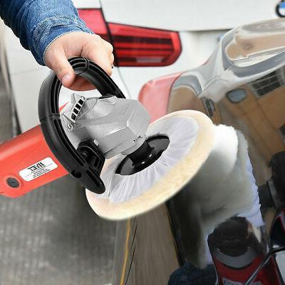 "7"" Electric 6 Speed Car Polisher Buffer Waxer Detail w/Case"
