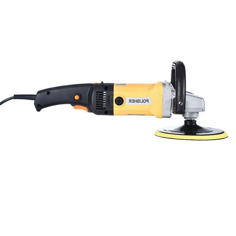 """1600W 7"""" Paint Polisher/Buffer Electric Variable Speed US"""