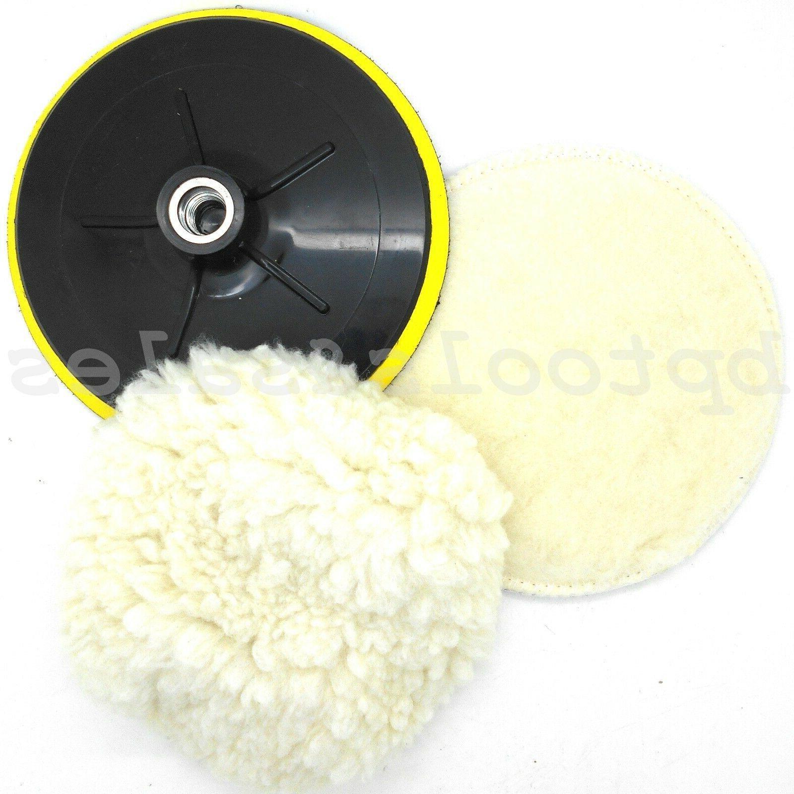 7 electric car polishing wheel buffing soft