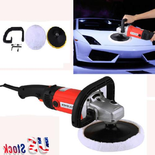 New Electric 6 Variable Speed Car Polisher Machine Sander