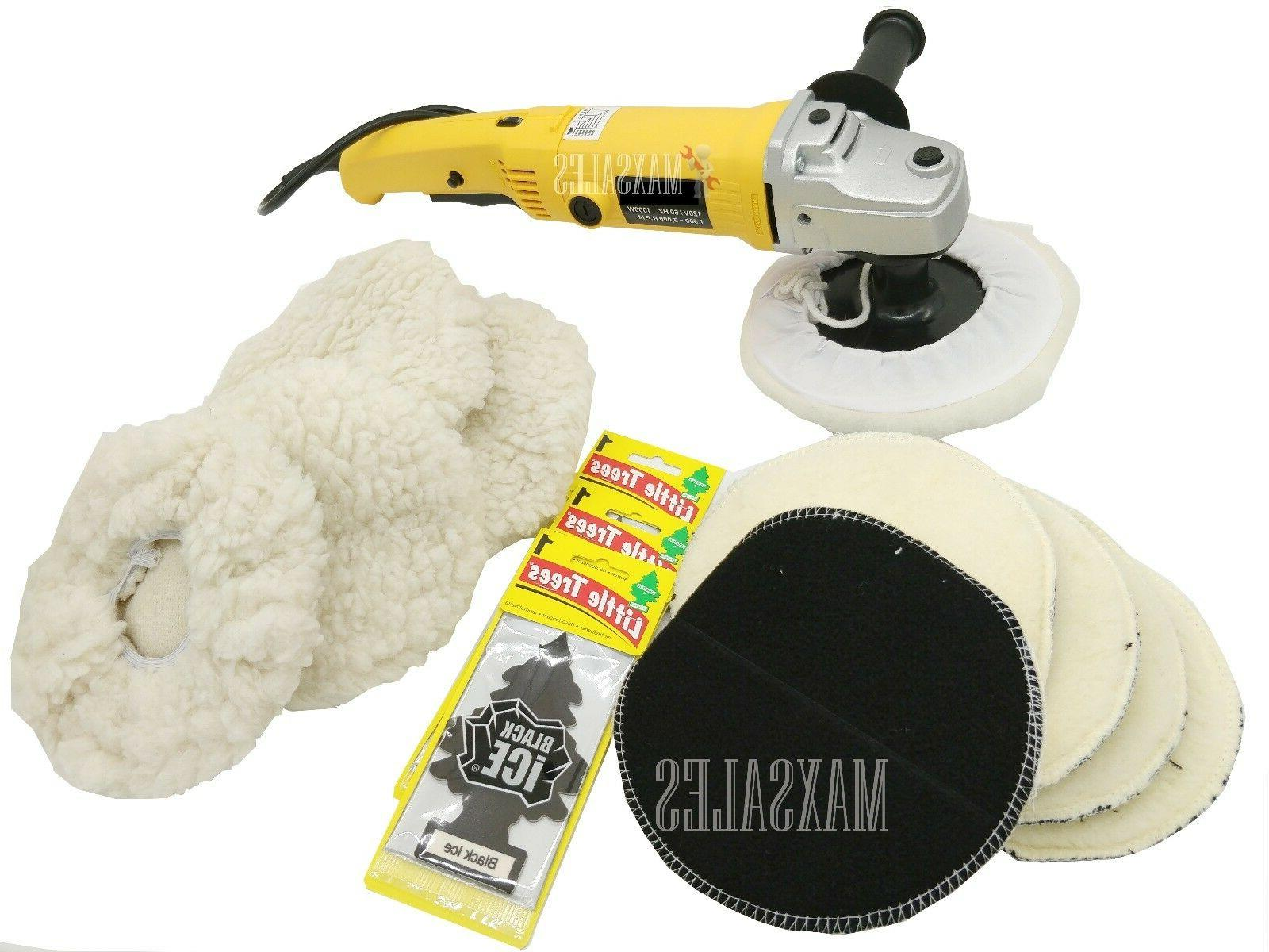 7 variable 6 speed electric car polisher