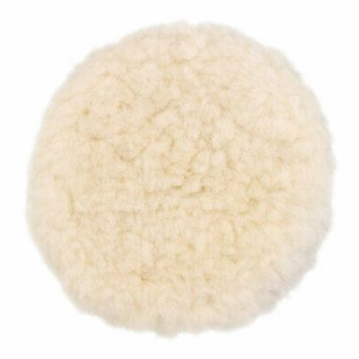 "8"" Natural 100% Wool 1"" Pile Grip & Polishing Pad"