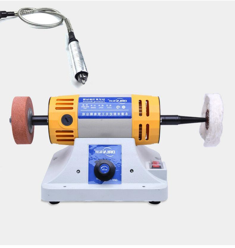 900w polishing machine polisher gemstone wood chisel