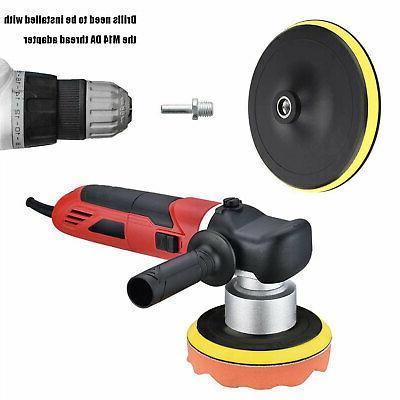 9pcs 5 Buffing Pads for Drill Sponge Kit Foam Polisher