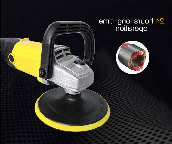 Automatic Car Orbital Waxer kit Polishing