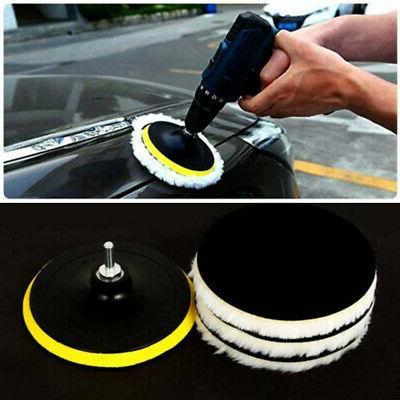 6 Buffing Polishing Pads Car Drill Wheel Mop Useful
