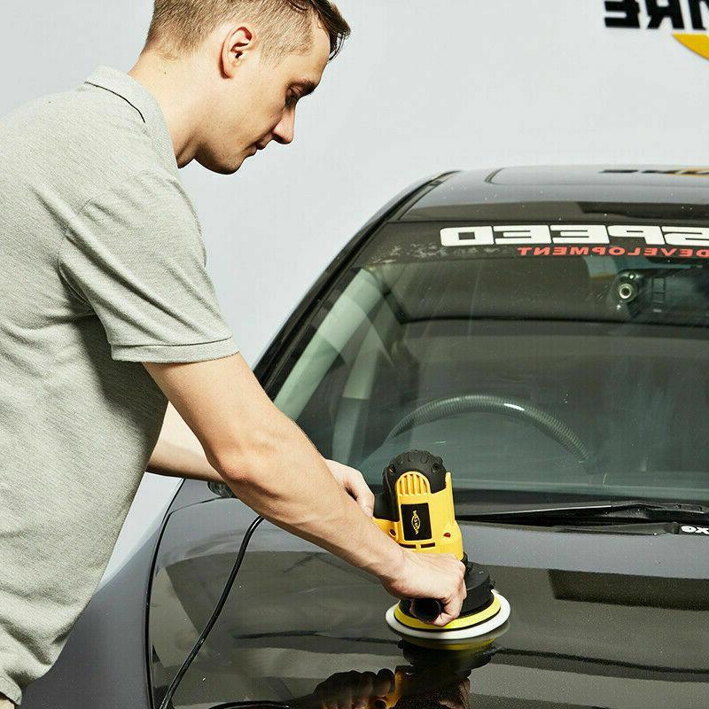 """Car Polisher Kit Buffer Wax Speed w/ 7"""""""