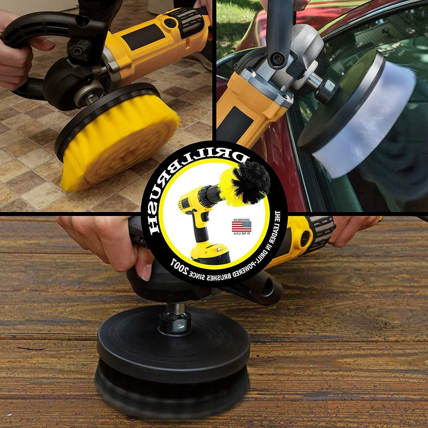 Contractor Brush Kit for and Buffers