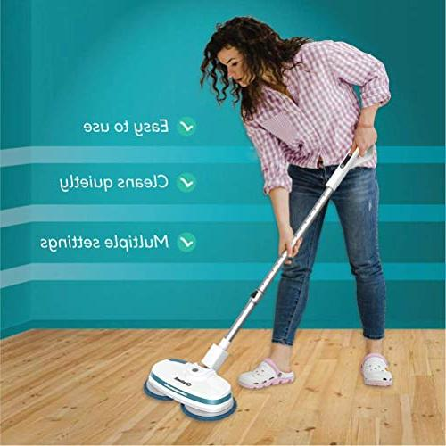 Gladwell Cordless - 3 In Spinner, Quiet and Scrubber For Tile, Vinyl, - 1 Year