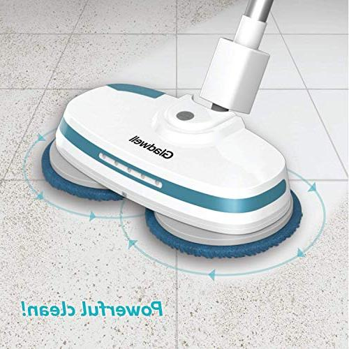 Gladwell - In Spinner, Scrubber, Waxer and Powerful Scrubber & For Vinyl, Laminate Floor -