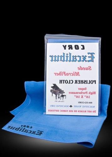 cory piano excalibur polishing cloth 16 x