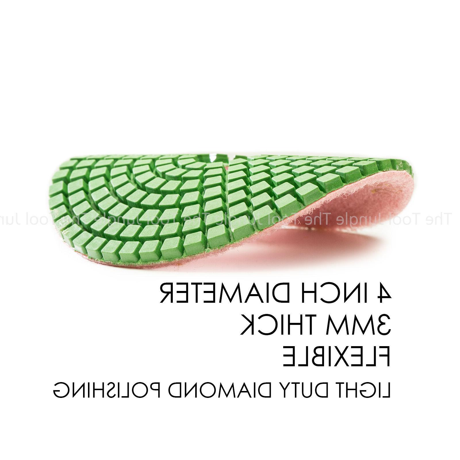 Diamond Pads inch wet/dry Granite Concrete Any
