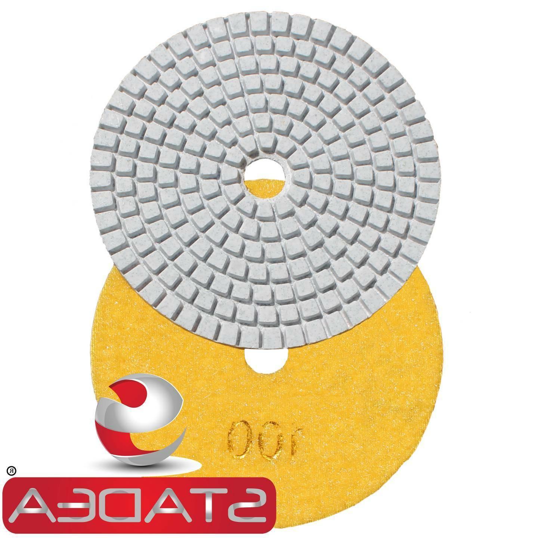 Diamond Polishing Pads inch WetDry Granite Concrete Marble Sanding