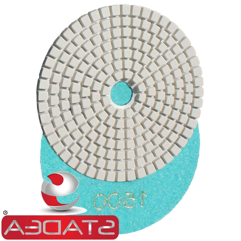 Diamond Polishing Pads inch WetDry Marble Stone Sanding