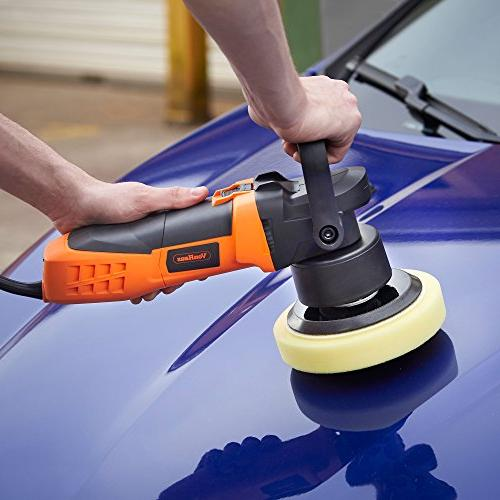 "VonHaus 6"" Buffer Polisher 6 Orbit for Bag Ideal Cars, and"