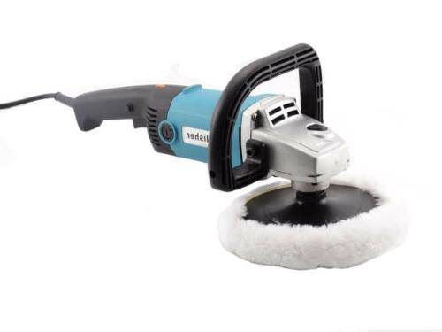 Electric Sander Waxer 6-Speed Pads