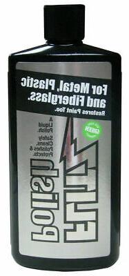 Flitz LQ 04535 Green Metal, Plastic and Fiberglass Polish Li