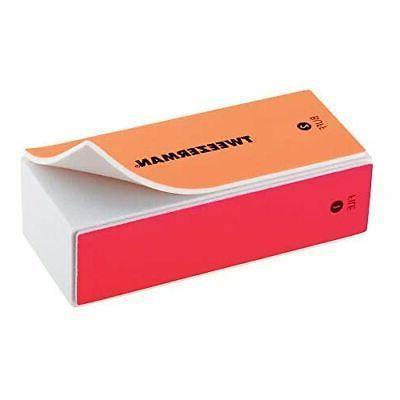 Tweezerman Neon Hot File, & Shine Block