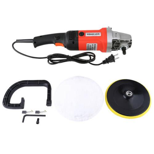 "New 7"" 6 Speed Polisher Sander"