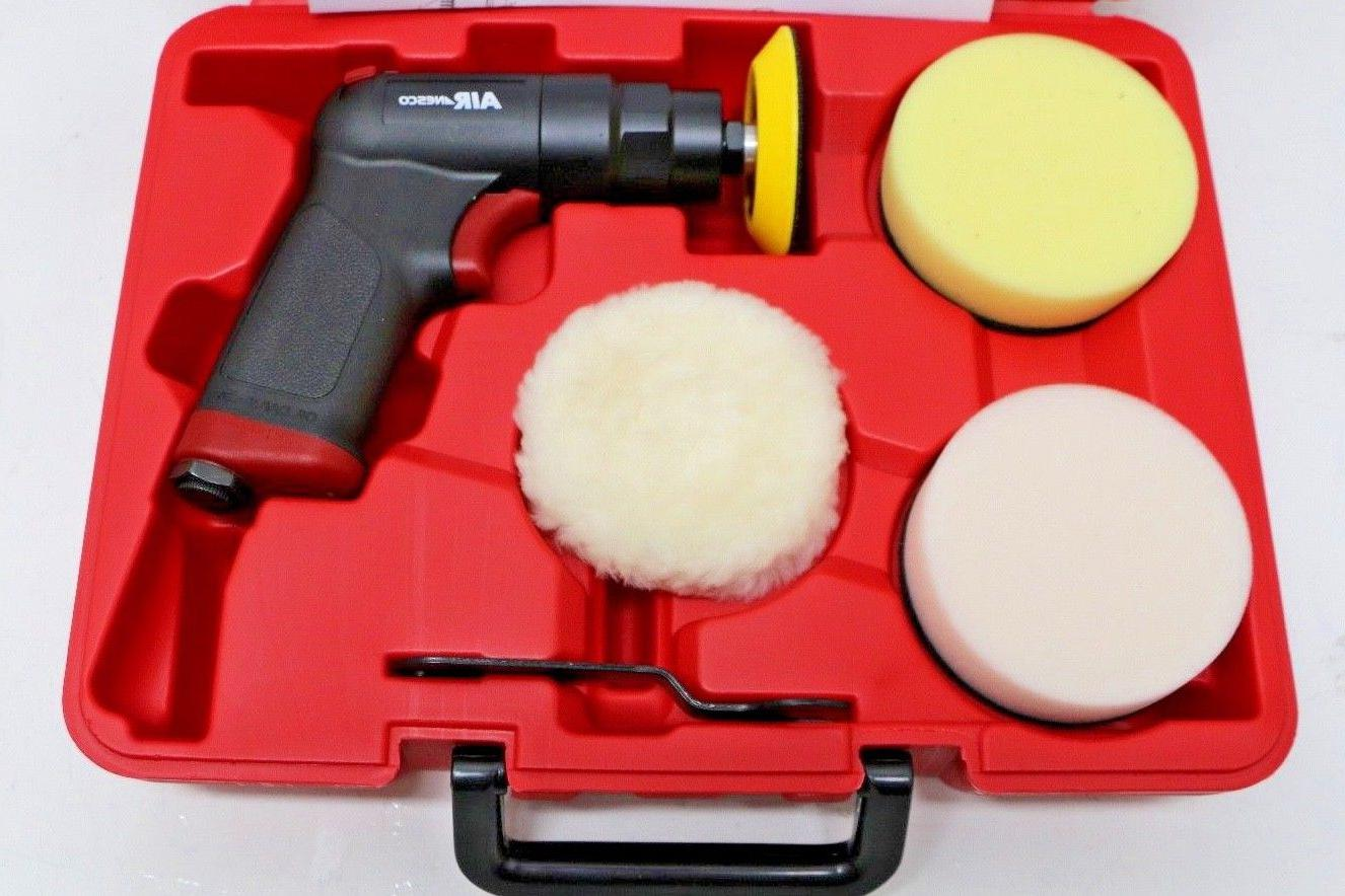 # NEW Air Mini Polisher w/ Pads Carry Case