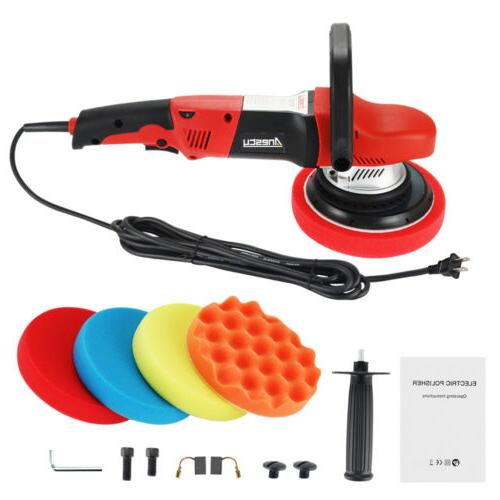 Random Orbital Polisher Buffer Action Polishing Waxing Kit