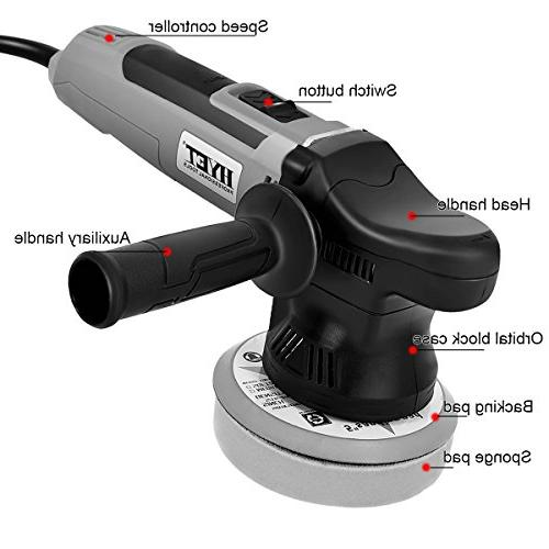 Goplus Random Variable Polisher Electrical Dual-Action