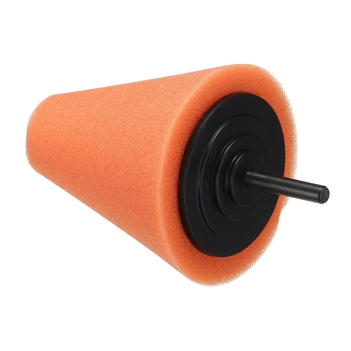 Cone Ball Buffing Pad Car Wheel Hub Cleaner Set