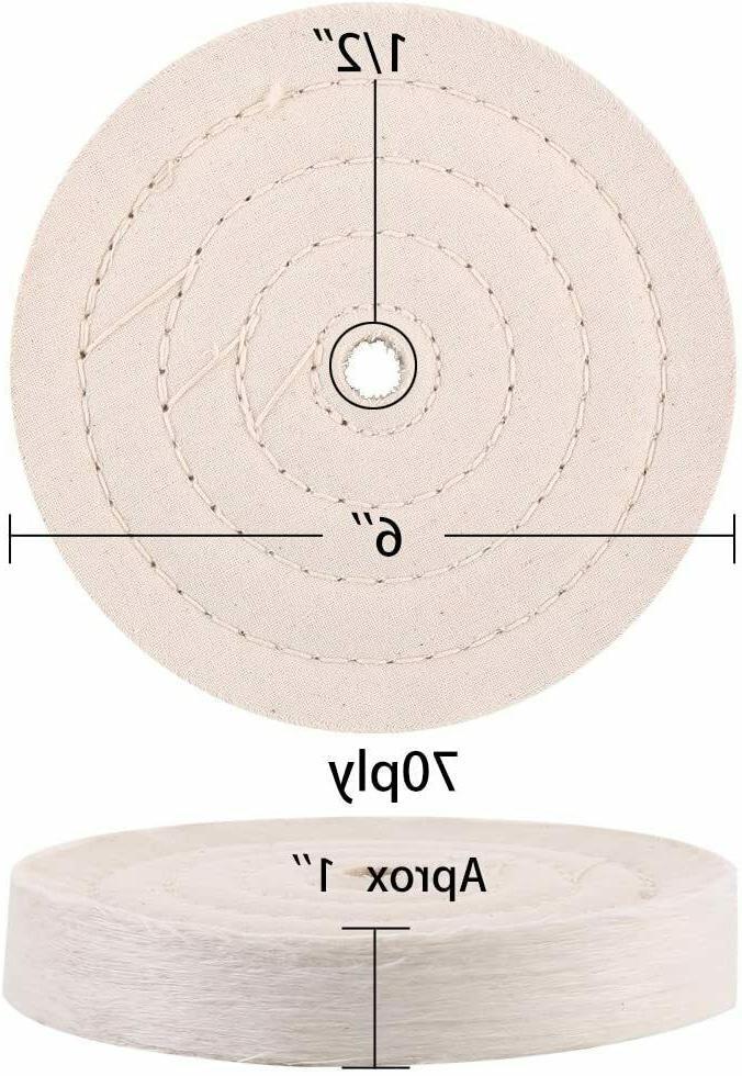 SCOTTCHEN Extra Polishing Wheel For Bench