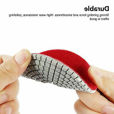 10pcs Wet Dry Polishing Pads 4 Concrete Granite
