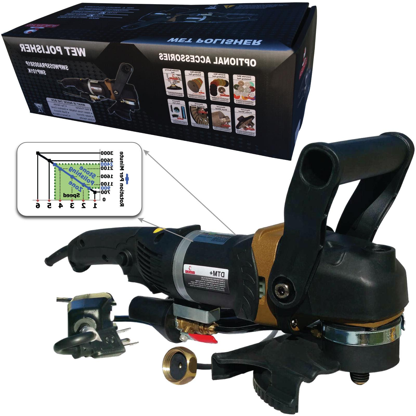 Stadea Stone Wet Polisher Variable Speed For Concrete Counte