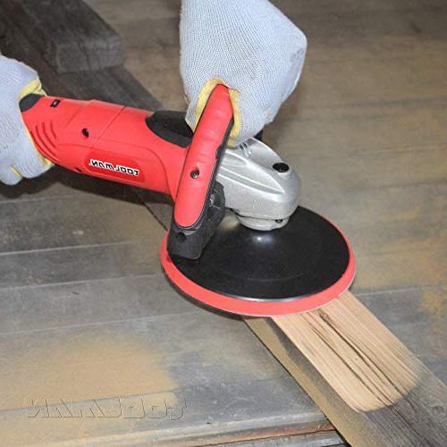 Waxer W/ Wool sandpaper works DeWalt Makita