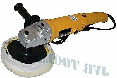"7"" VARIABLE 6-SPEED ELECTRIC CAR POLISHER/BUFFER & SANDER w/"