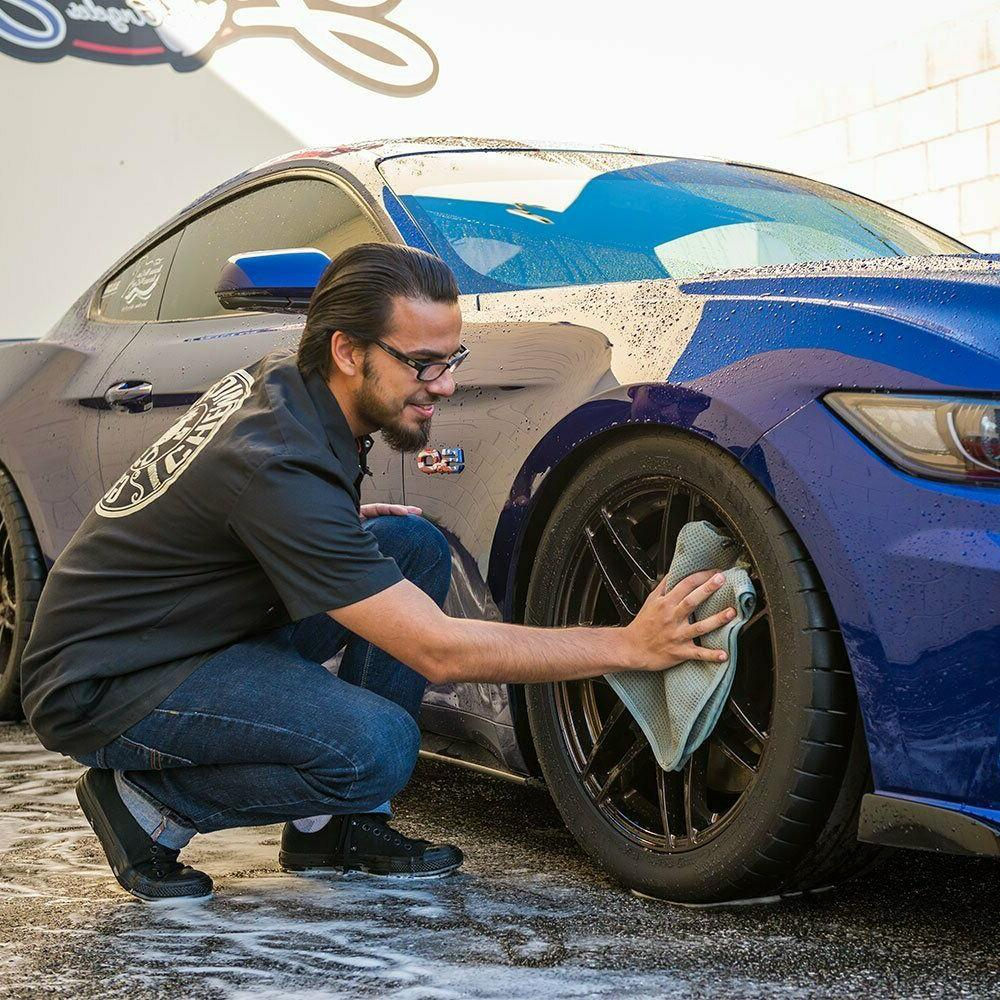 Chemical Gray Matter Towel Auto Car