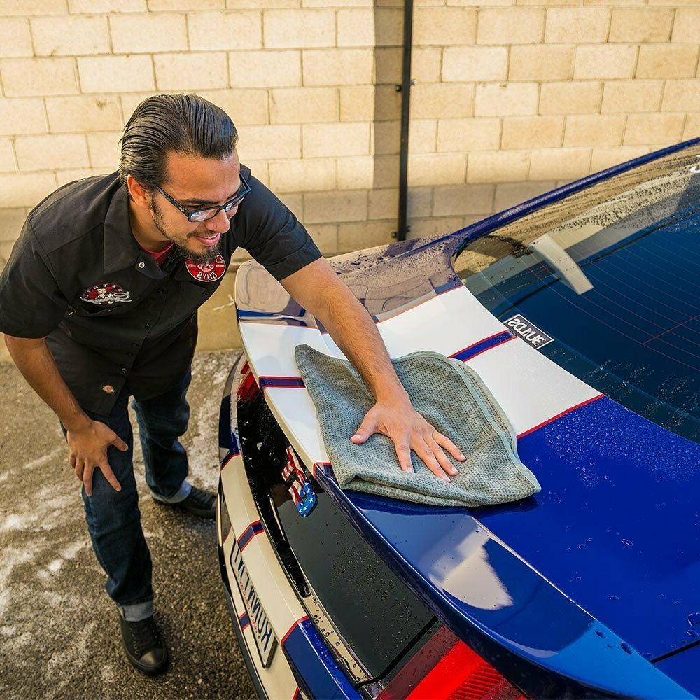 Chemical Guys Gray Matter Microfiber Drying Towel Auto Car