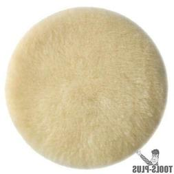 6-Inch Lambs Wool Hook and Loop Polishing Pad - Porter-Cable