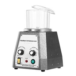BestEquip Magnetic Tumbler 100mm Magnetic Polisher 4 Speed C