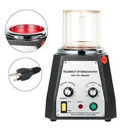YaeTek Magnetic Tumbler 100mm Magnetic Polisher 4 Speed Cont