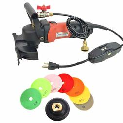 "Marble & Stone 4"" Granite Sander Countertop Wet Polisher Gri"