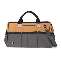 20 in. Messenger Tool Bag Canvas Heavy Duty Shoulder Tote Wo